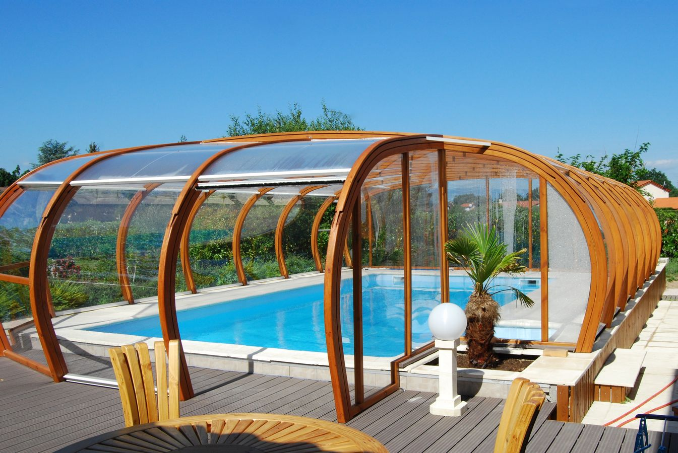 Swimming pool enclosure ecocurves - Swimming pool enclosures ...